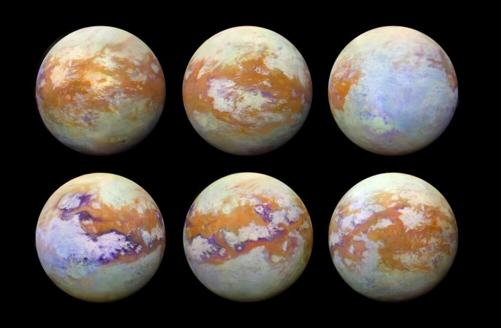 Värsked klõpsud: need on seni parimad ülesvõtted Saturni ühest põnevamast kuust Titanist