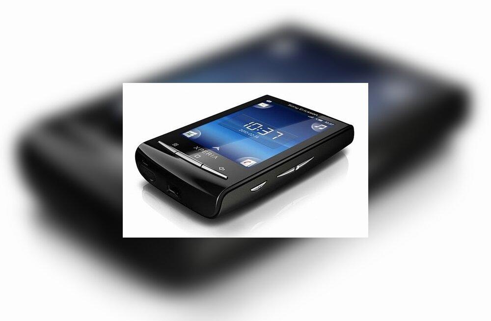 Sony Ericsson Xperia 10 Mini mobiiltelefon
