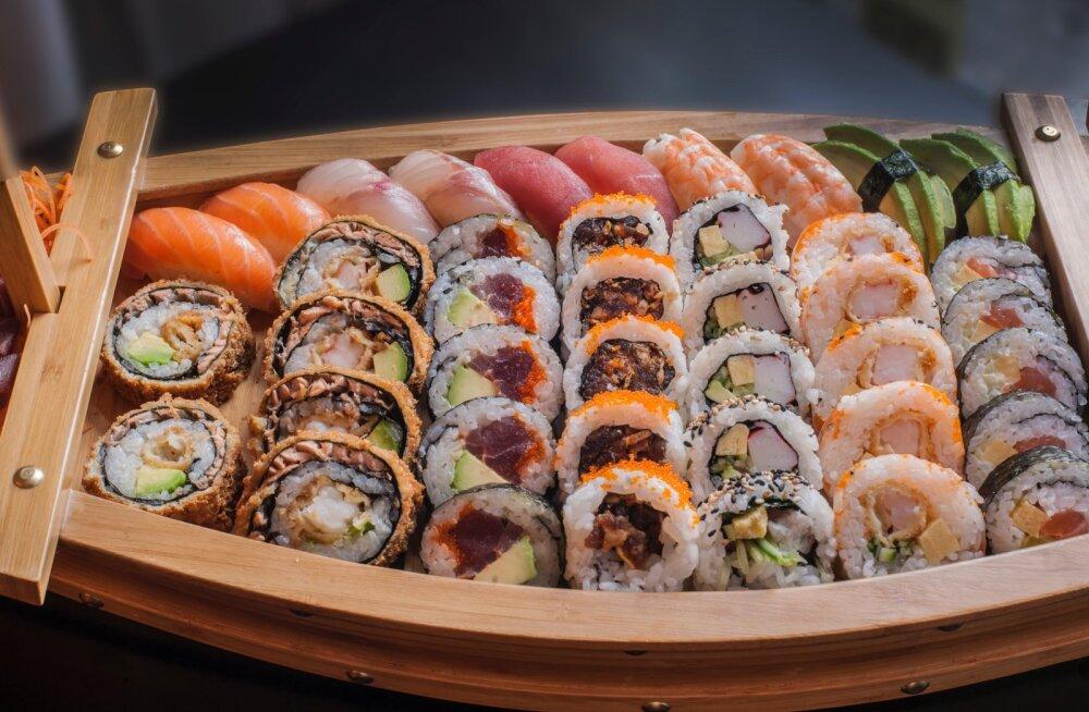 Kiiduväärt algatus — Sushi Shop pakub meditsiinitöötajatele tasuta lõunat