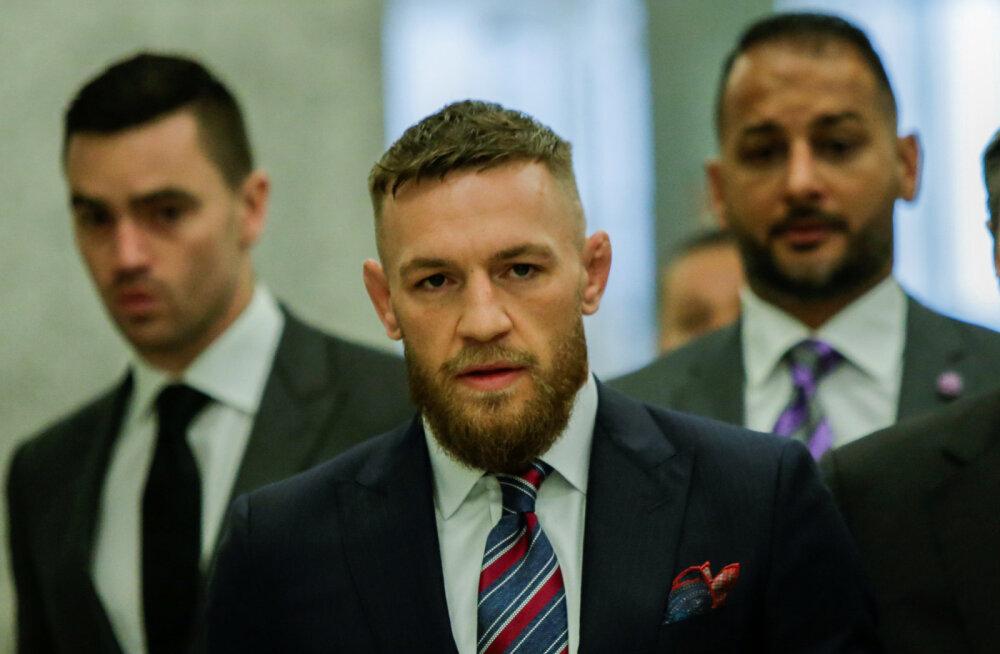Conor McGregor kaevati bussirünnaku pärast kohtusse