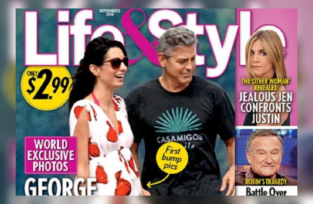 СМИ: Невеста Джорджа Клуни беременна?