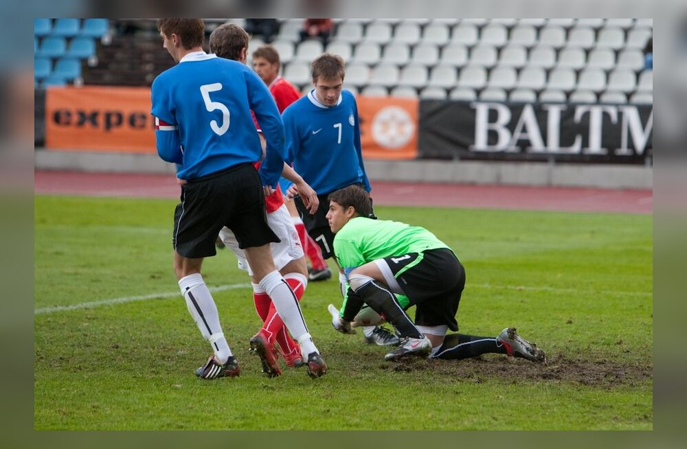 Eesti jalgpallinoored kaotasid Saksamaa eakaaslastele suurelt
