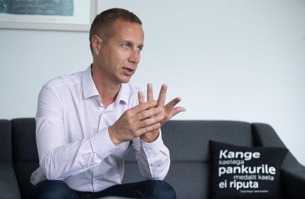 Coop Panga juht Margus Rink tahab panka kiiresti kasvatada.