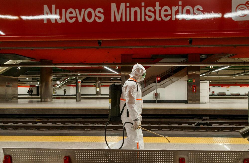 Hispaanias loodetakse, et koroonakriisi haripunkt saabub mõne päeva pärast
