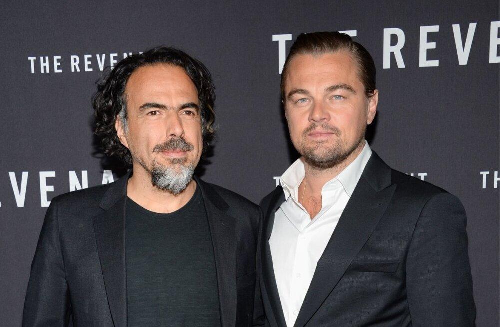Alejandro G. Inarritu ja Leonardo DiCaprio