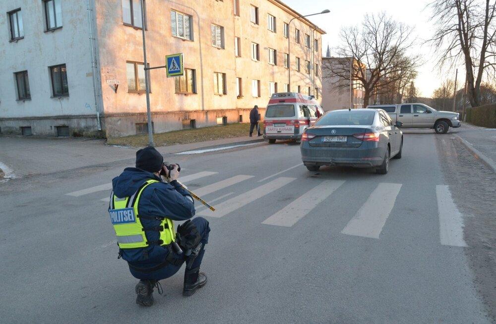 Päev liikluses: Tallinnas said jalakäijad autodelt lööke