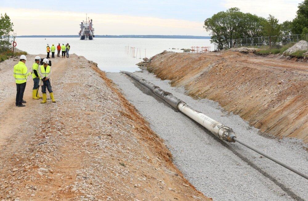 Balticconnectori meretoru maaletõmbamine.