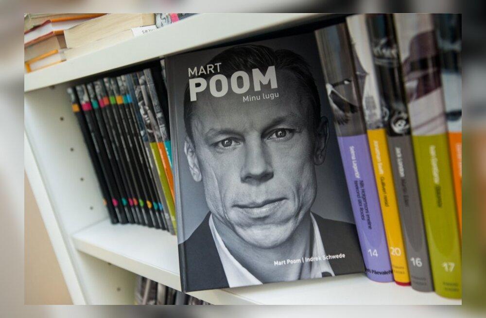 Mart Poomi elulooraamat on üks populaarsemaid jõulukinke.