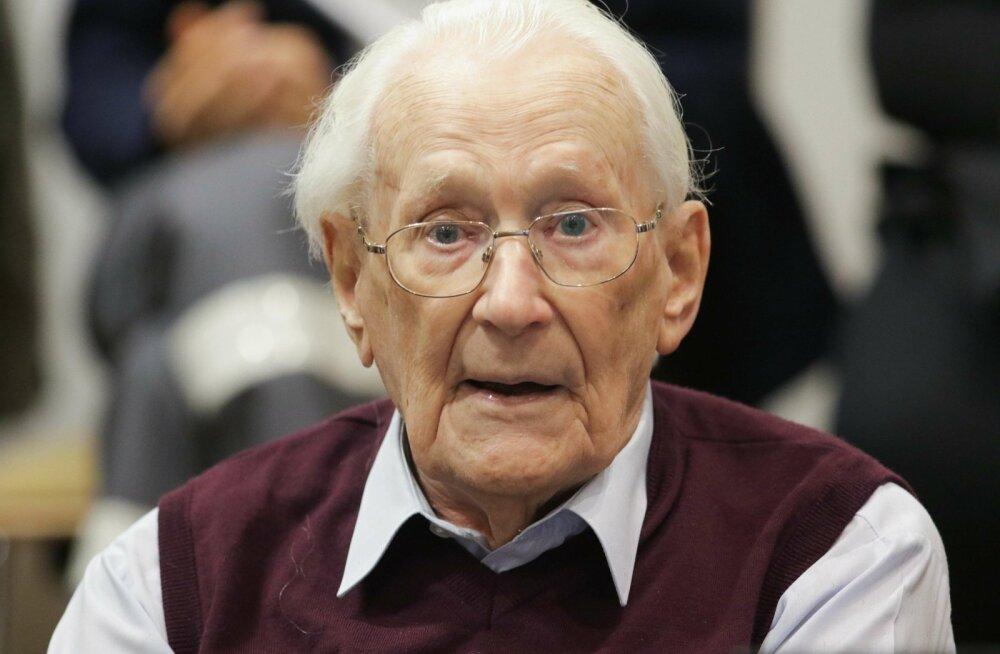 """Saksa liidukohus jättis jõusse """"Auschwitzi raamatupidajale"""" määratud karistuse mõrvadele kaasaaitamise eest"""