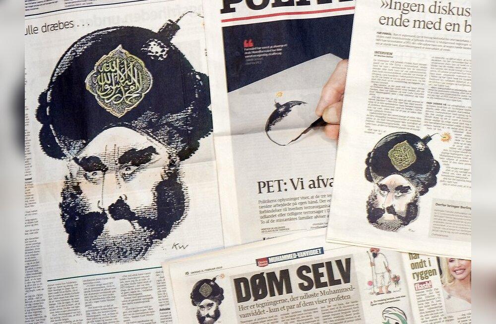Taani politsei vahistas ajalehetoimetuse õhkimist kavandanud terroristid
