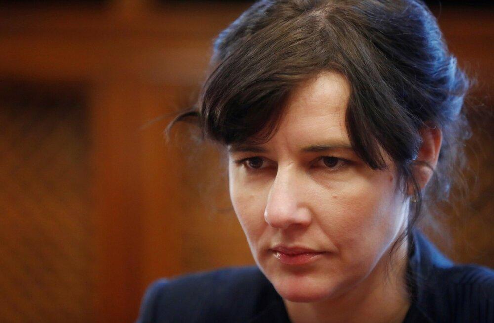 Läti rahandusminister  Dana Reizniece-Ozola