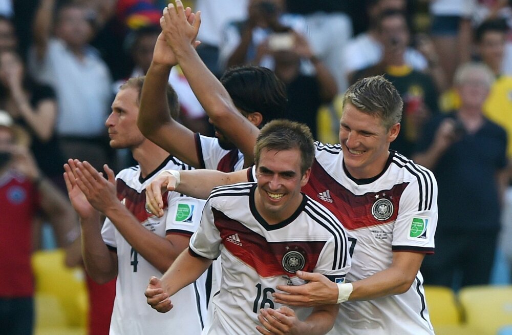 Sõbrad Philipp Lahm ja Bastian Schweinsteiger