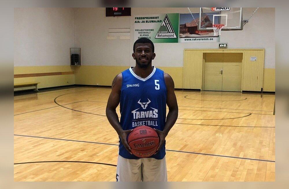 Rakvere Tarvas testib NBA mängija nimekaimu