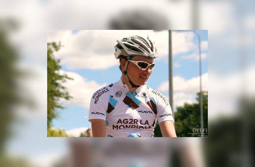 Rene Mandri, Ag2r La Mondiale, jalgratas