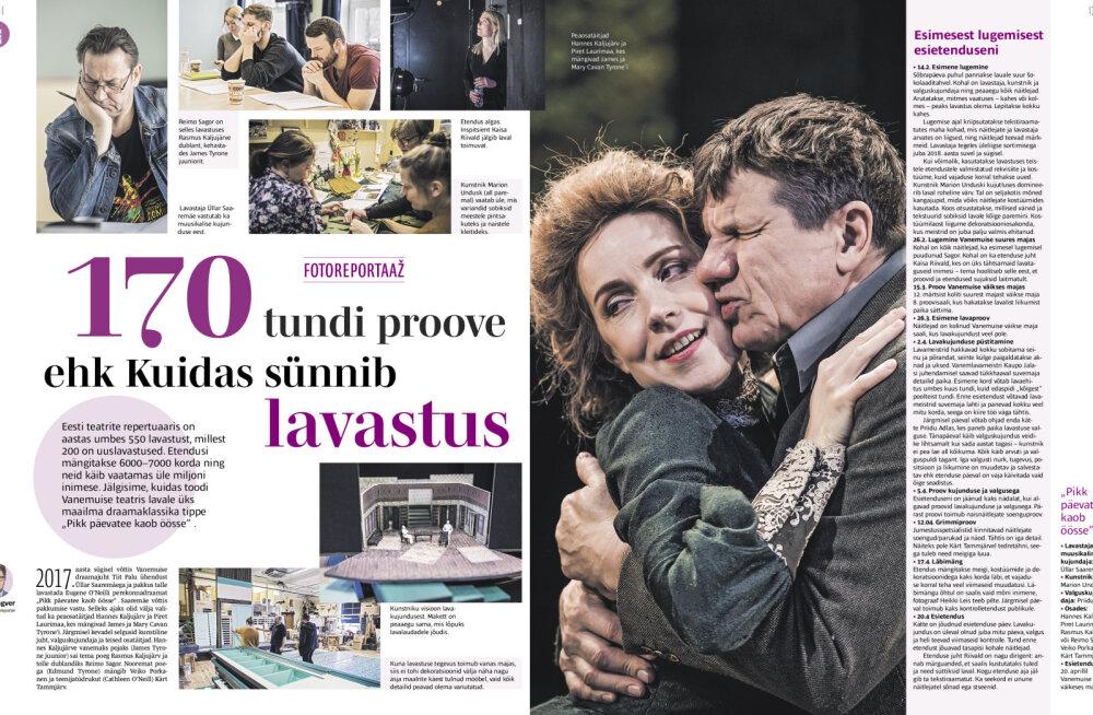 Eesti Päevaleht ilmub homsest koos LP-ga