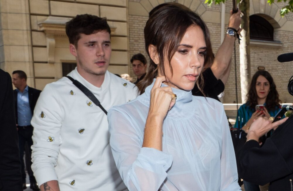 VÕRDLE | Veider või okei? Beckhamite poja uus silmarõõm on täpselt ema Victoria koopia!