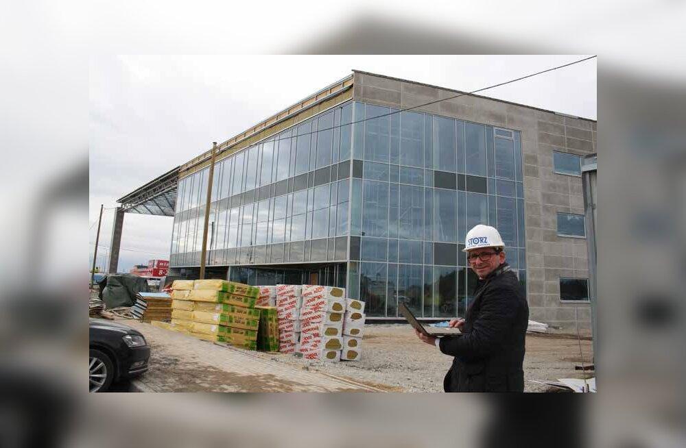 Kirurgiainstrumentide tootja ehitab Pärnu maantee äärde edevamat sorti tehasehoonet