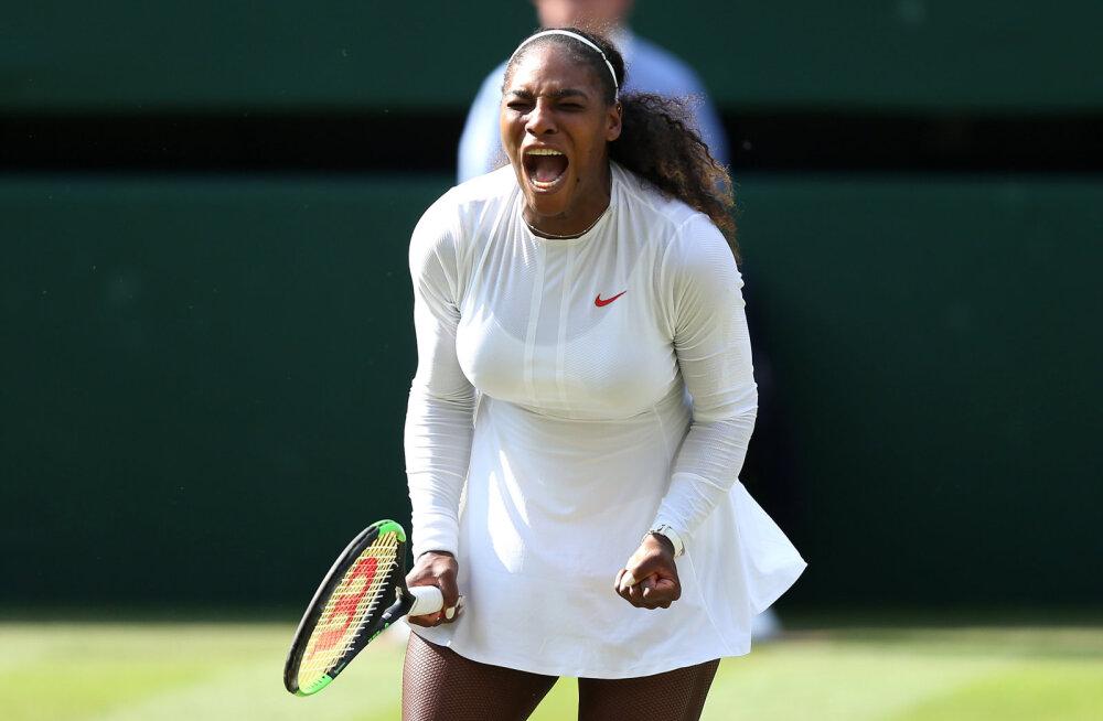 Ajakiri GQ nimetas esitennisist Serena Williamsi aasta naiseks, aga ajakirja kaas vihastas fännid välja
