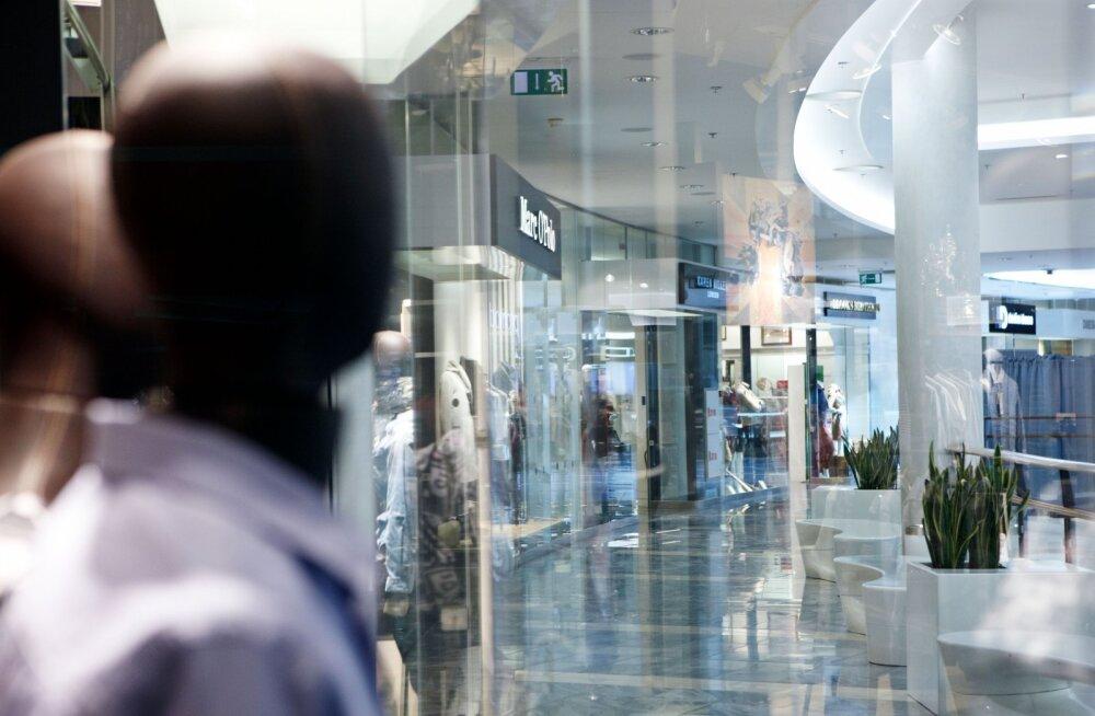 Торговый центр Viru Keskus получил статус уникального в Эстонии предприятия