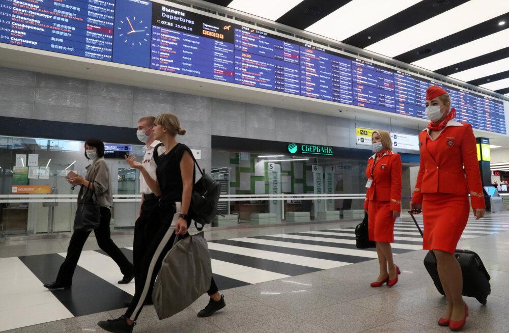 Россия отменяет обязательную изоляцию для прибывающих в страну