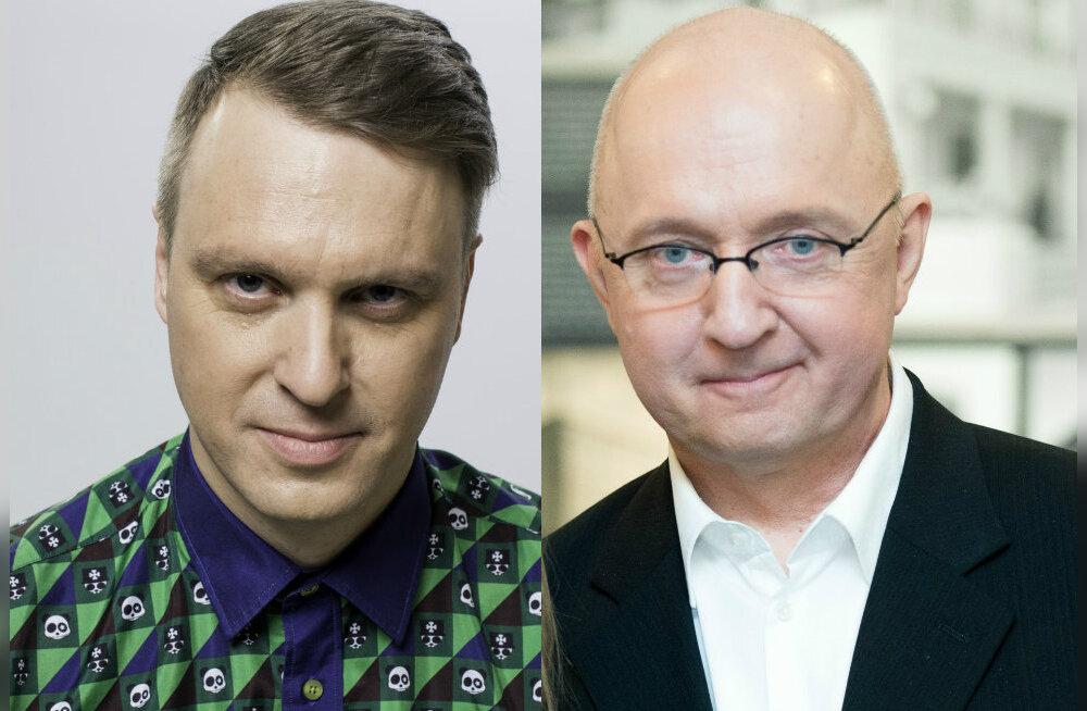 Rauno Märks ja Olav Osolin