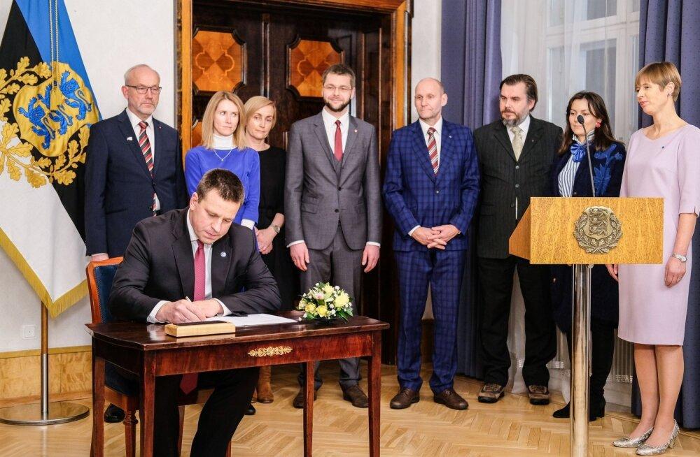 Peaminister Jüri Ratas allkirjastas teadusleppe.