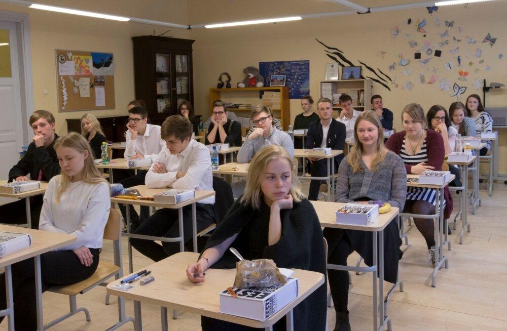 Eesti keele eksam. Gustav Adolfi gümnaasium