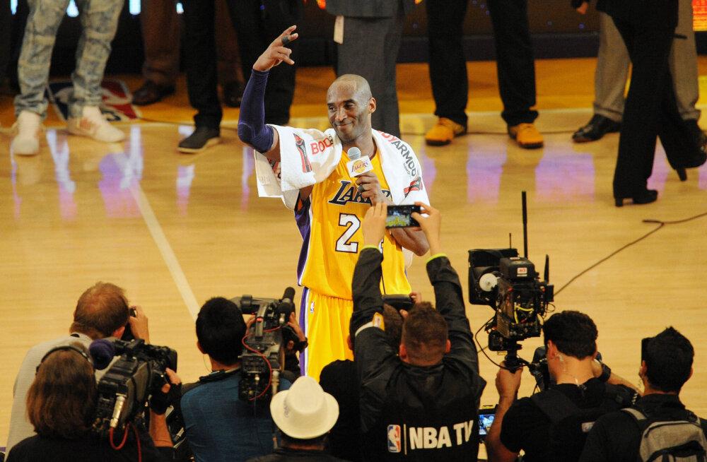 Uus hitt-dokumentaal tulekul? Kobe Bryanti palgatud võttemeeskonnal oli viimasel hooajal Lakersile piiramatu ligipääs