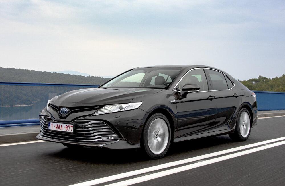 PROOVISÕIT | Toyota Camry tallab Lexuse varvastel