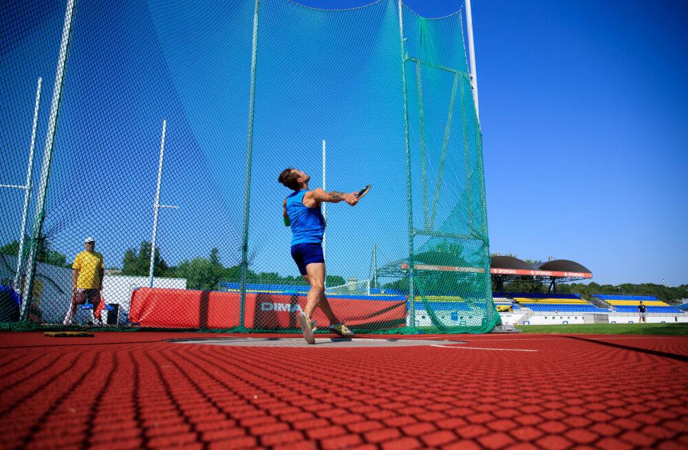 21-aastane sloveen püstitas kettaheites oma vanuseklassi Euroopa rekordi