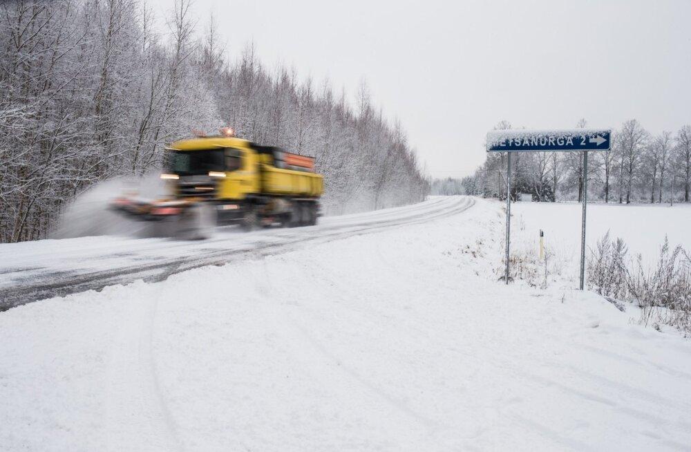 Mis seisus on sel talvel teie vallasisesed teed?