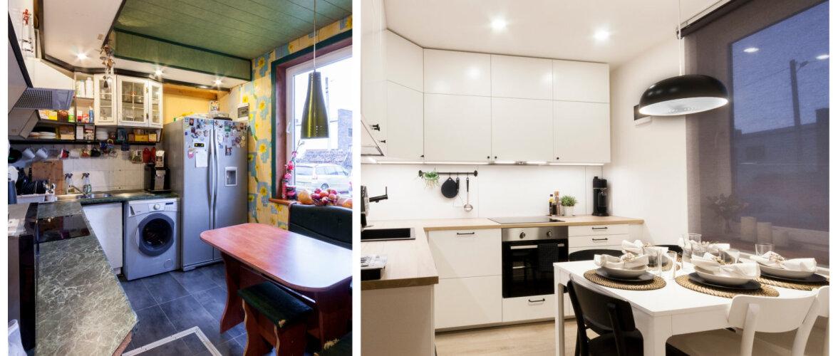 ENNE JA PÄRAST   Ühe köögi totaalne muutumine