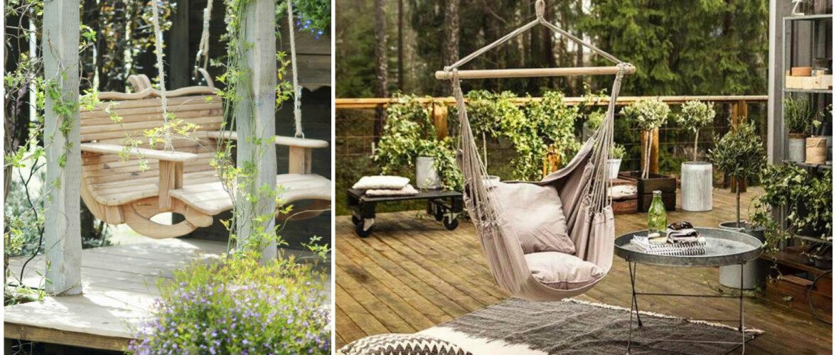FOTOD │ Kiik aias pakub silmailu ja lõõgastavaid hetki
