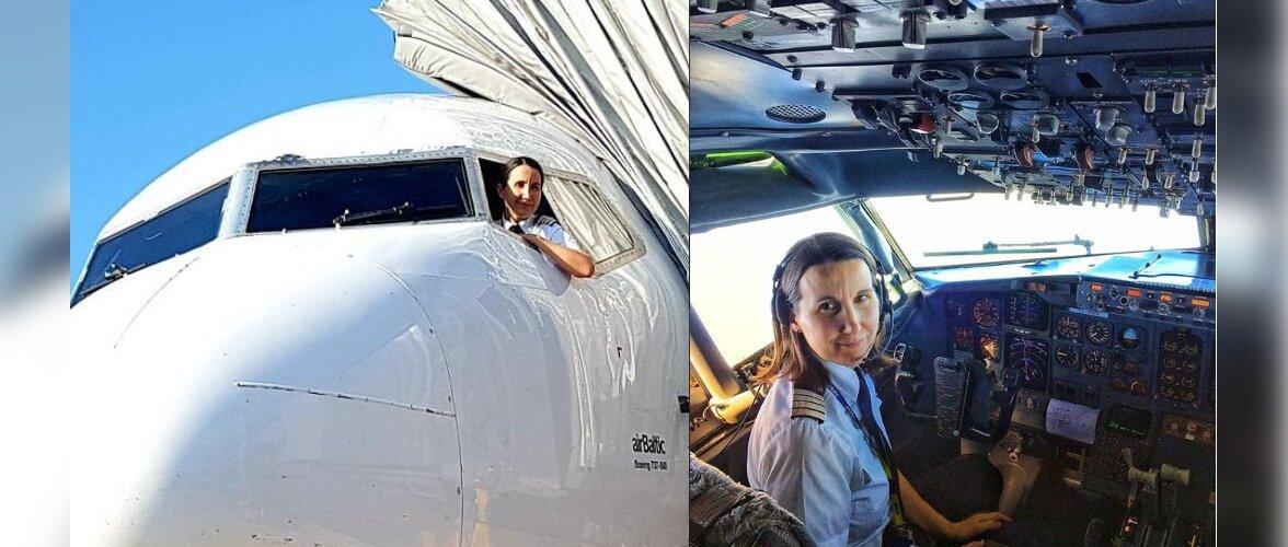 Небо глазами женщины: будни капитана самолета airBaltic