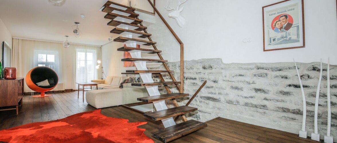 Sisearhitekt Inna Pasti neljal korrusel kulgev ajalooga majake keset linna