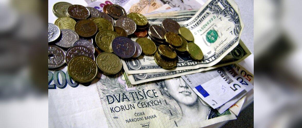 В Чехии вводятся новые правила обмена валют