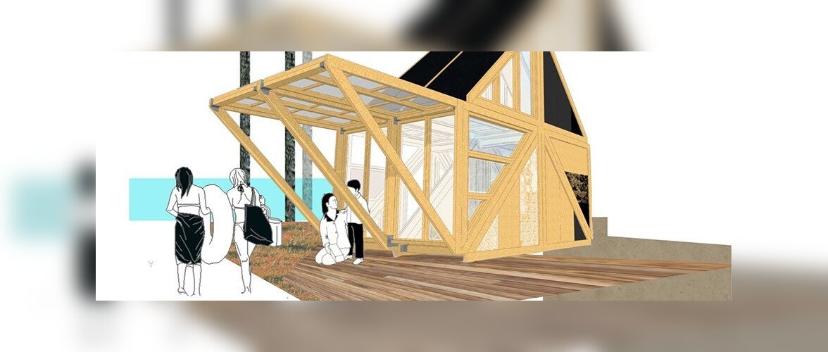 """Juba aasta pärast saab osta aiamajade disainikonkursi võidutööd """"Alucoli"""""""