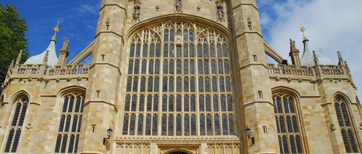 Kuninglikud pulmad   Heidame pilgu kirikule, kus Prints Harry abiellub