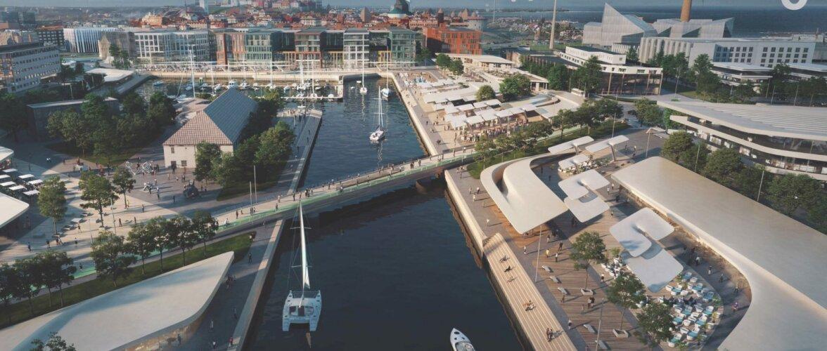 Pealinna merevärav saab innovaatilise lahenduse. Tallinna Vanasadama arendusplaani hakkab koostama Zaha Hadid Architects