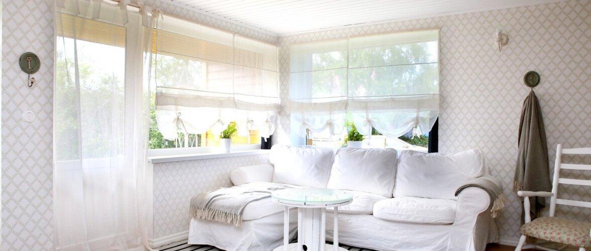 """19ec7c455b7 Valgeks kujundatud noore pere kodu: """"Kallis, ma ostsin meile maja ..."""