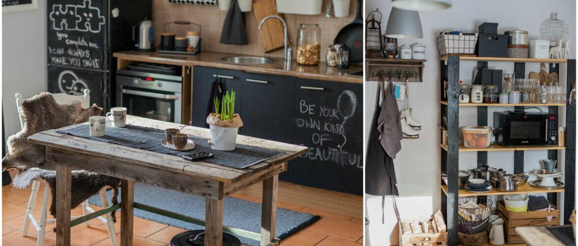 FOTOVÕISTLUS │ Julge ja värske kujundusega köök