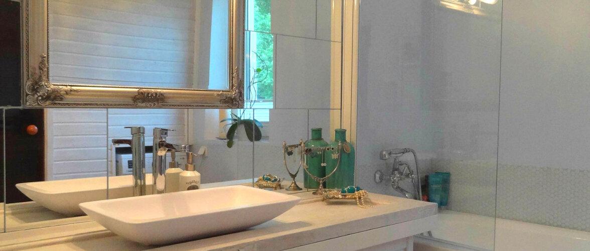ENNE JA PÄRAST: Tähistaevaga kaunistatud vannituba