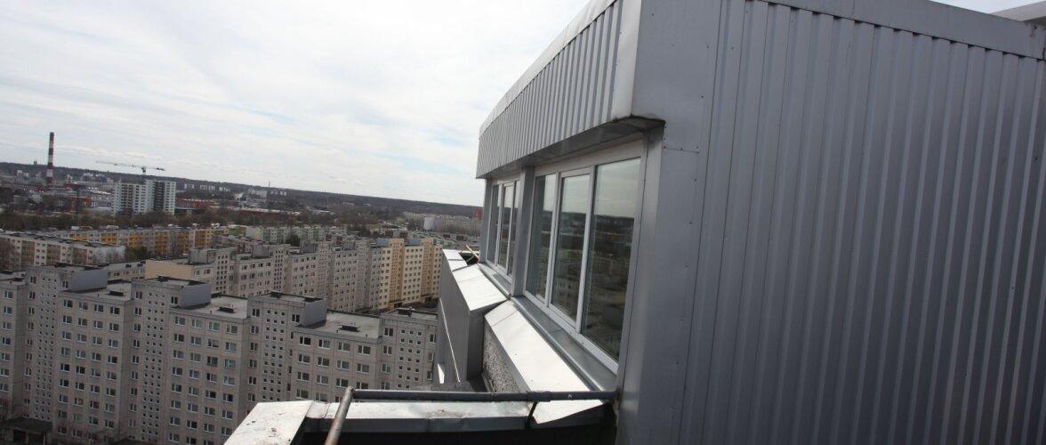 FOTOD: Omamoodi eksklusiivne korter kõrghoone katusel Õismäel