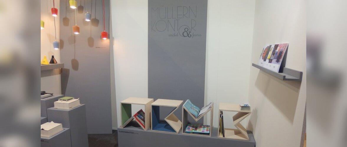 Uute ideede hall ehk Pure Talents Kölni mööblimessil IMM Cologne 2015
