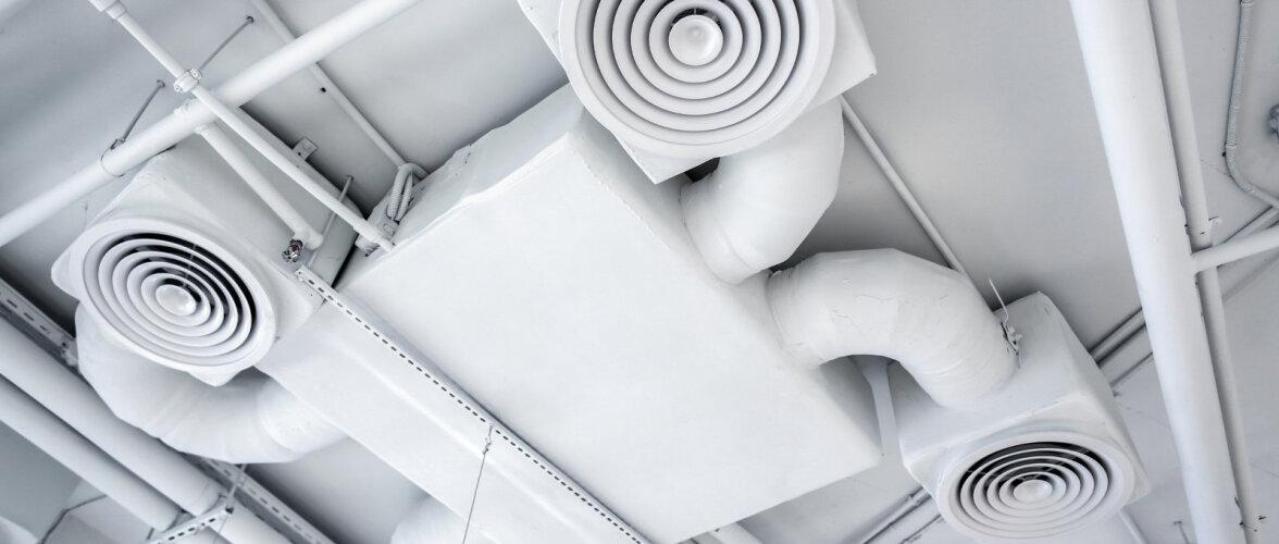VVV reegel – Ventileeri Vastavalt Vajadusele. Alati pole vaja maksimaalselt ventileerida ning lokaalseid seadmeid ei maksa karta