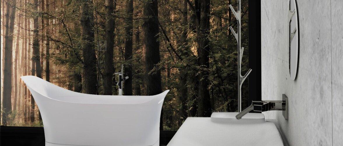 """Axor-Wermstock vannitoa disainikonkursi võitja Kätlin Pesuri projekt """"Elamise äärel"""""""