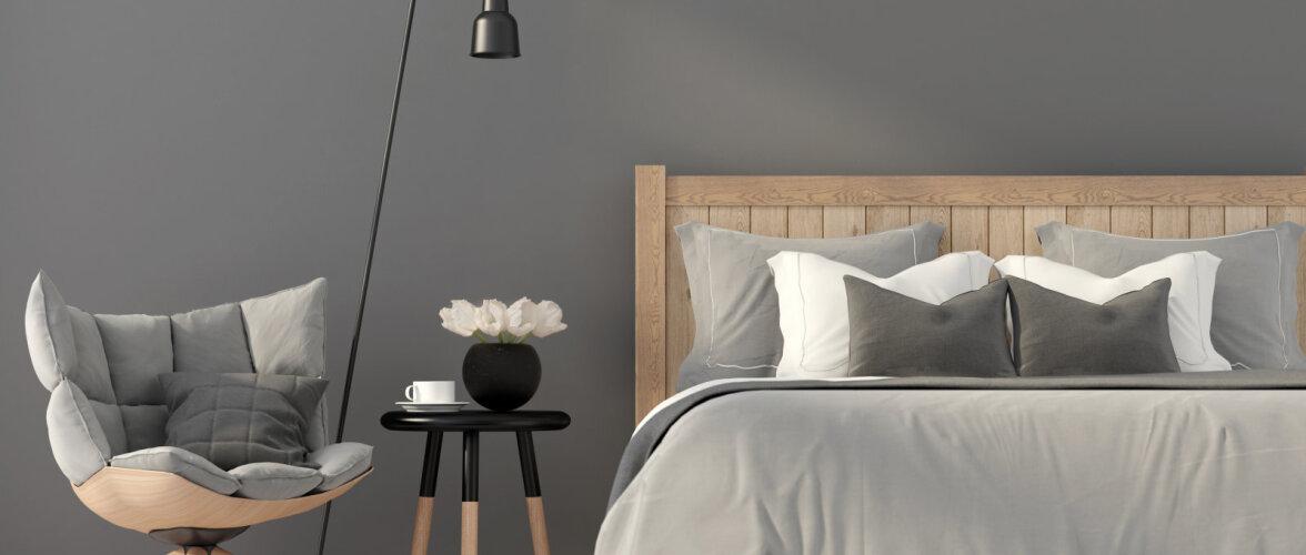 Häid nippe, kuidas pisike magamistuba avaramaks muuta