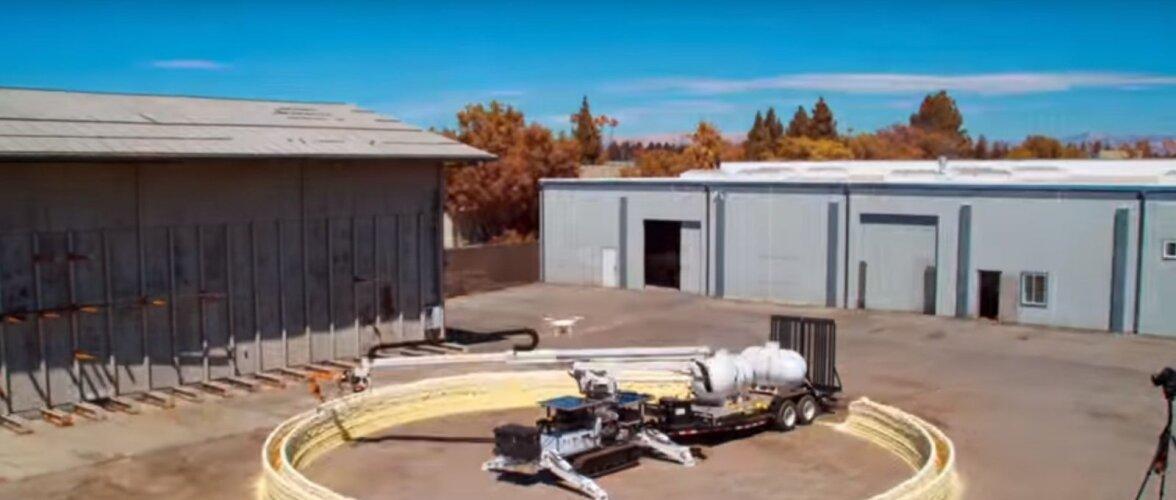 Võimas läbimurre 3D-printimises! Masin ehitab kiiresti kogu hoone ning võiks tulevikus Marsil maju püstitada
