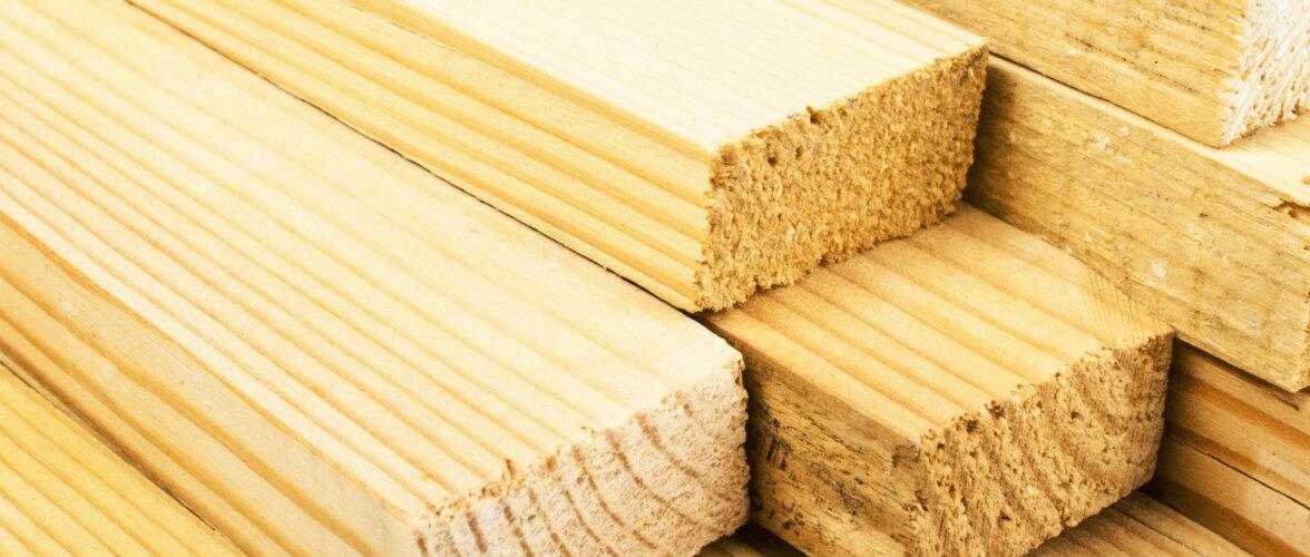 Mida tuleks teada hööveldamata puitmaterjali valikul?
