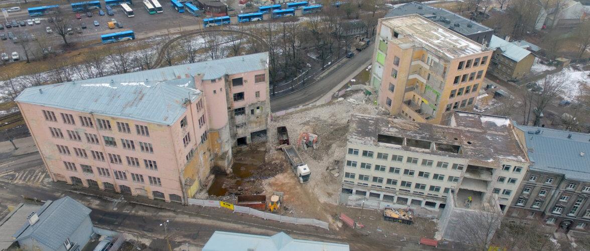 Need mehed lammutasid Kunstiakadeemia uue maja, Park Hotelli, Postimaja, Sakala keskuse ja paljud teised keerukad objektid